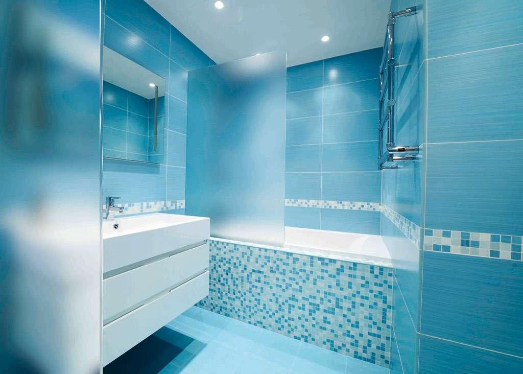 ideas article modern light blue bathroom - Bathroom Ideas Blue
