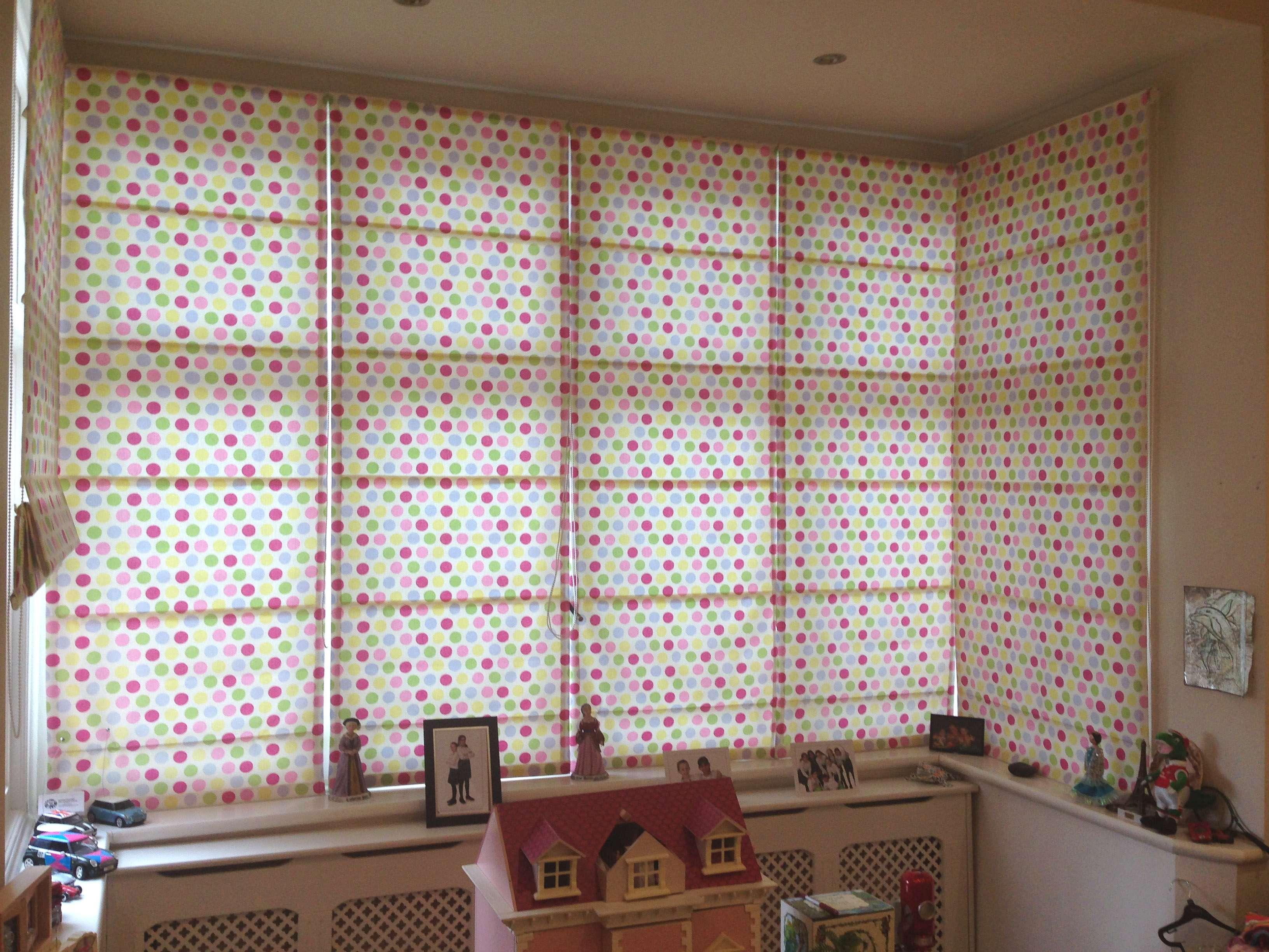 Ideas Bay Window Curtains Blinds