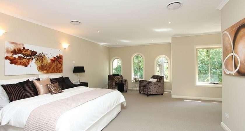 Ideas Bedrooms White Beige Brown