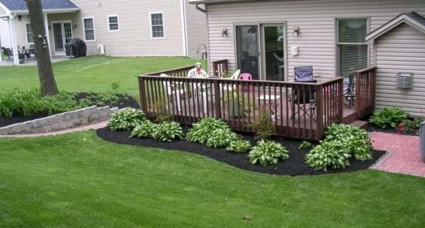 Ideas Black Mulch Gardens Yards Patios Decks