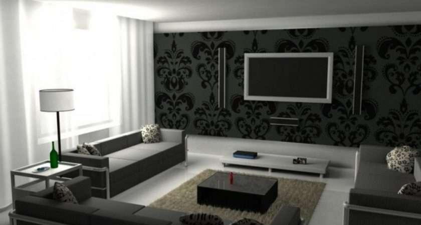 Ideas Black White Living Room Grey