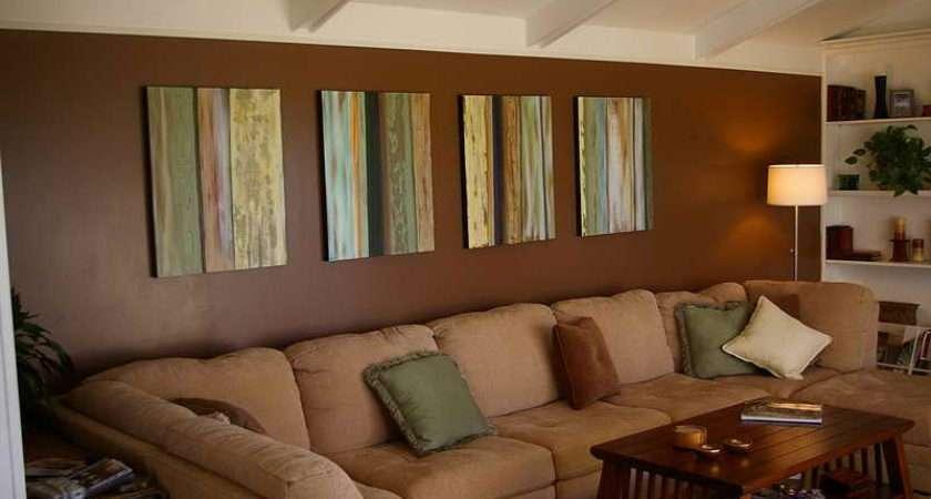 Ideas Brown Living Room Modern Design Style