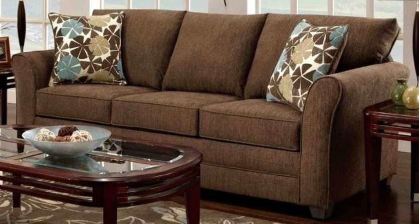 Ideas Brown Sofa Living Room Furniture Home Design