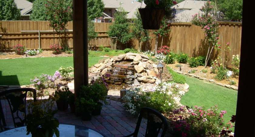 Ideas Budget Backyard Landscape Plans Front Yard