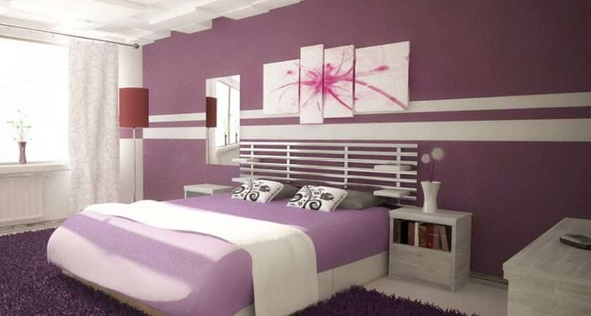 Ideas Cheap Easy Cool Ways Paint Your Room Purple Wall