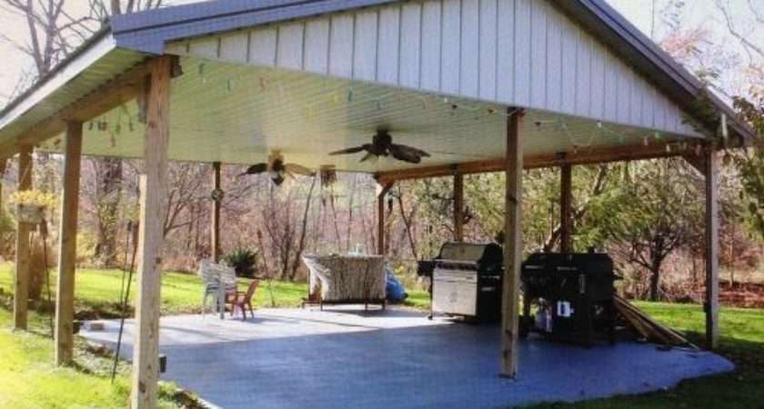 Ideas Covered Outdoor Shelter Area Hometalk