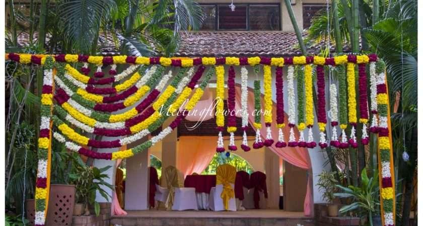 Ideas Decorating Entrance Beautifully Wedding