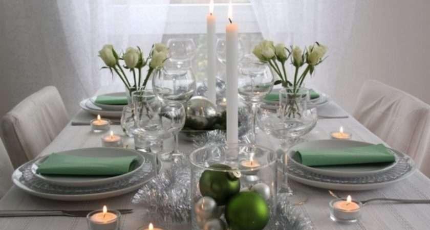 Ideas Fabulous Christmas Table Decoration