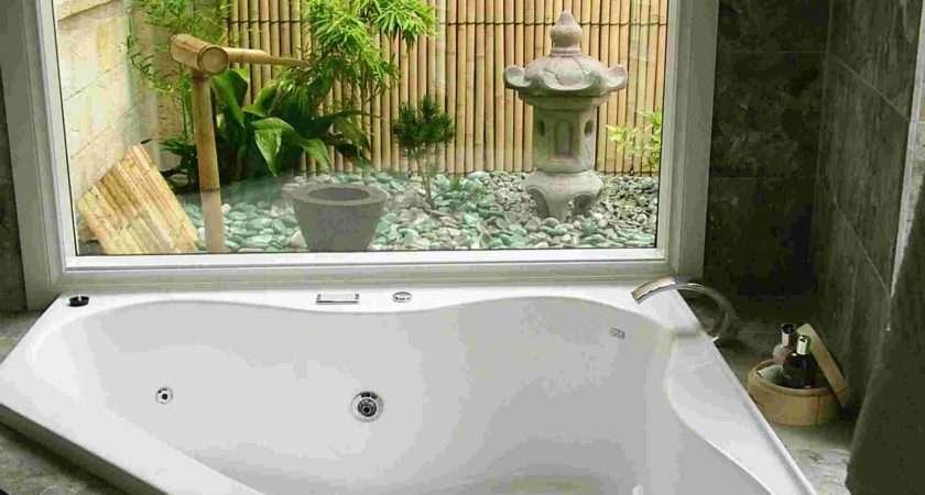 Ideas Flower Spa Bathroom Design Home