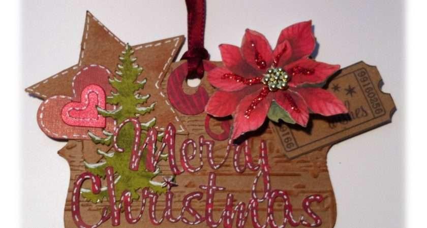 Ideas Hanging Insert Hang Christmas Cards Ribbon