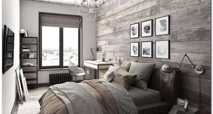 Ideas Industrial Bedroom Interior