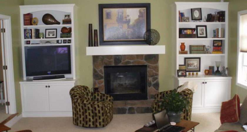 Ideas Paint Fireplace Mantel Shelves Design
