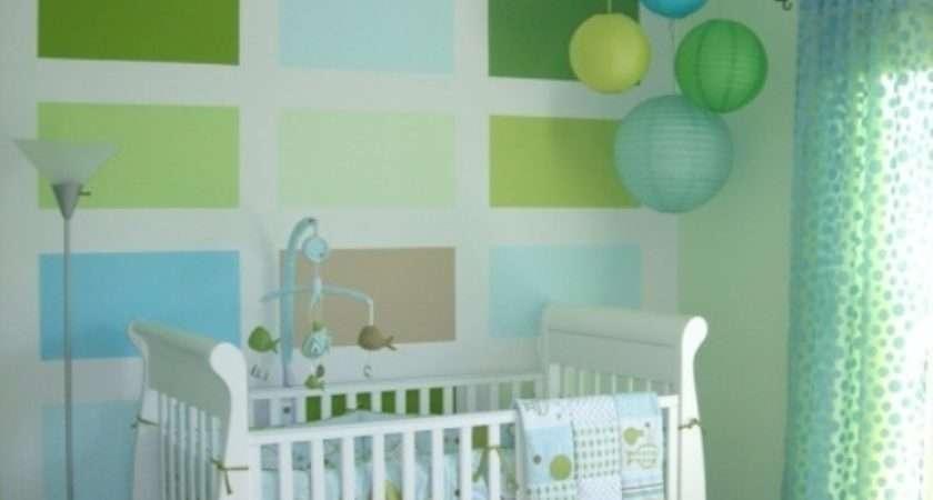 Ideas Paint Nursery Walls Bright Colors Kidsomania