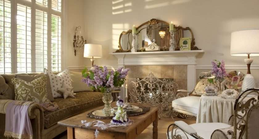 Ideas Shabby Chic Living Room Interior Design