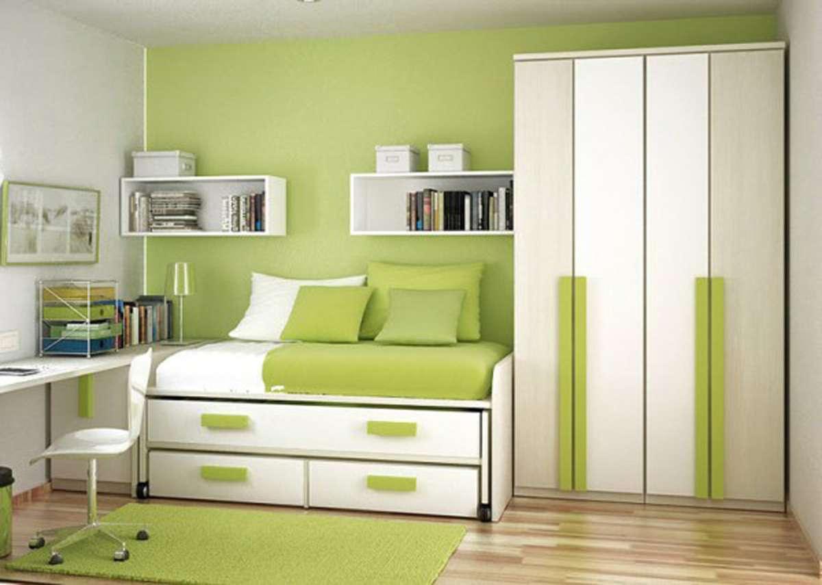 Ideas Small Bedroom Design Retro Paint Designs Creative