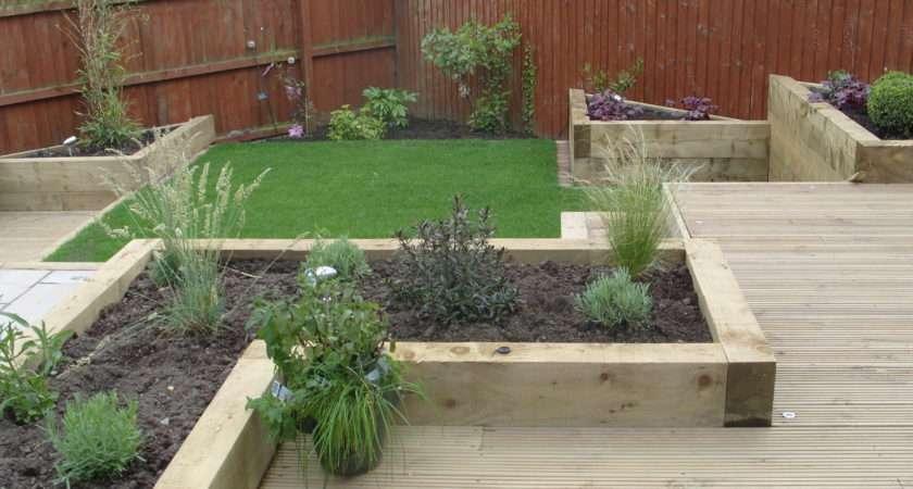 Ideas Small Gardens Garden Design Front Photos