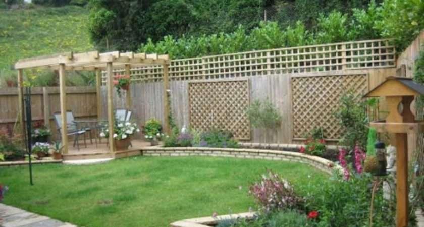 Ideas Small Yards Minimalist Garden Design Landscaping