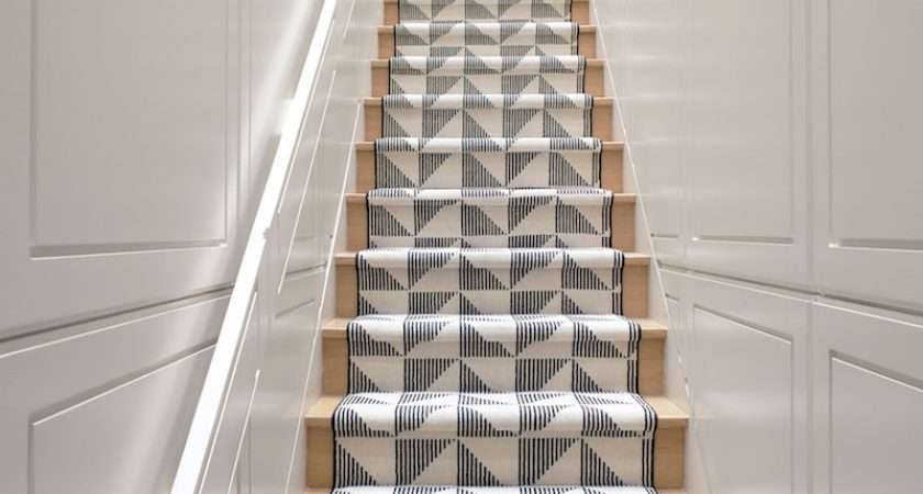 Ideas Stair Runner Carpet Modern