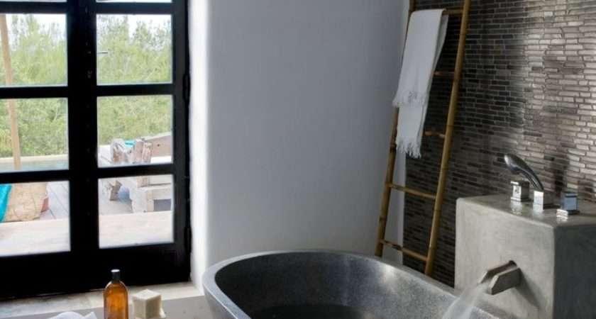 Ideas Using Natural Stone Bathroom Mosaic Tiles