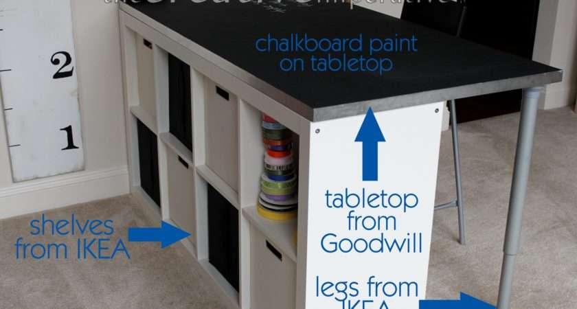 Ikea Adjustable Table Legs Tabletop Picked