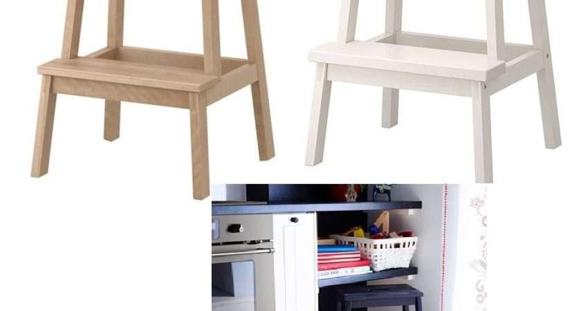 Ikea Bekvam Step Stool Solid Wood Kitchen Wooden Ladders