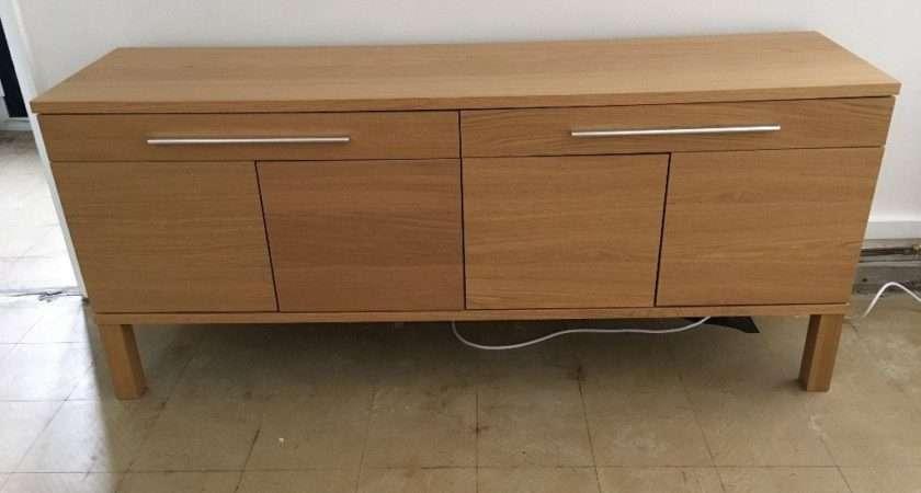 Ikea Bjursta Sideboard Oak Veneer Chester Cheshire
