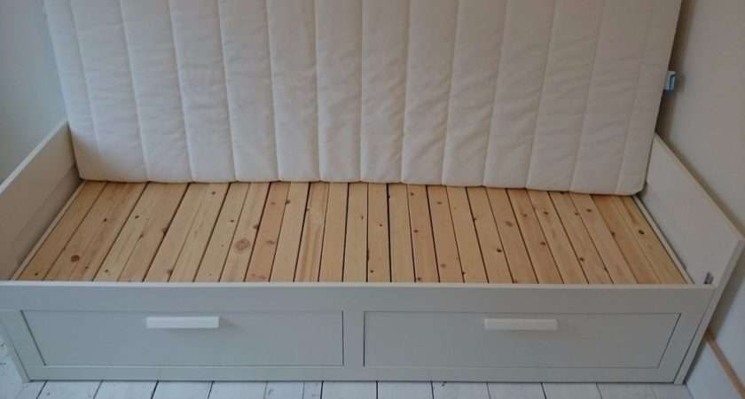 Ikea Brimnes Day Bed Single Double Ebay