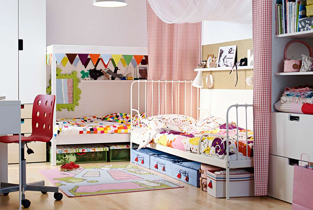 Ikea Canopy Bed Kids Modern Wardrobe Cool Flooring Design
