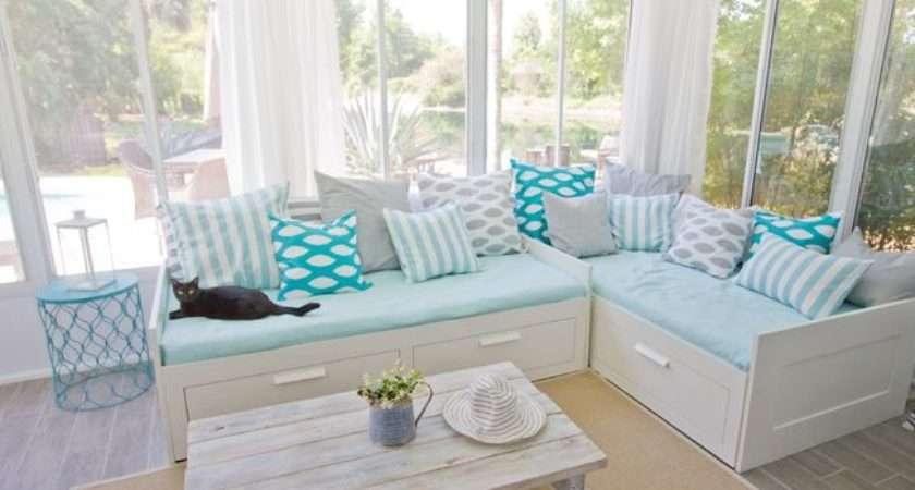 Ikea Daybeds Sunroom Ideas Pinterest