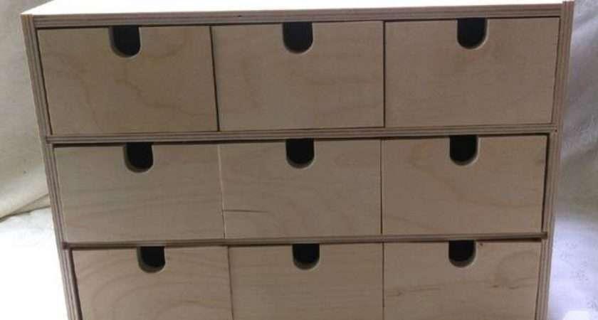 Ikea Drawer Wooden Storage Box Sale Roseville