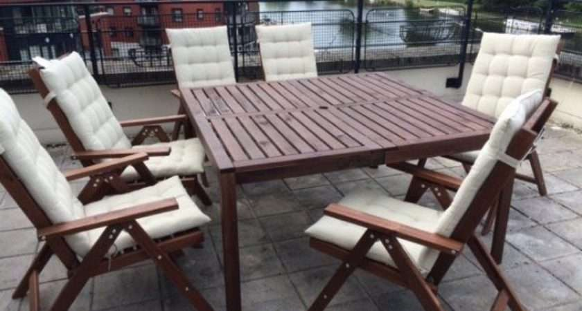 Ikea Garden Patio Furniture Table Chairs Less