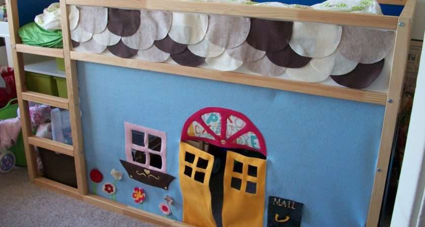 Ikea Kura Bed Felt Playhouse Hackers