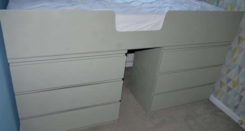 Ikea Malm Drawer Hack Single Bed Renovation Bay Bee