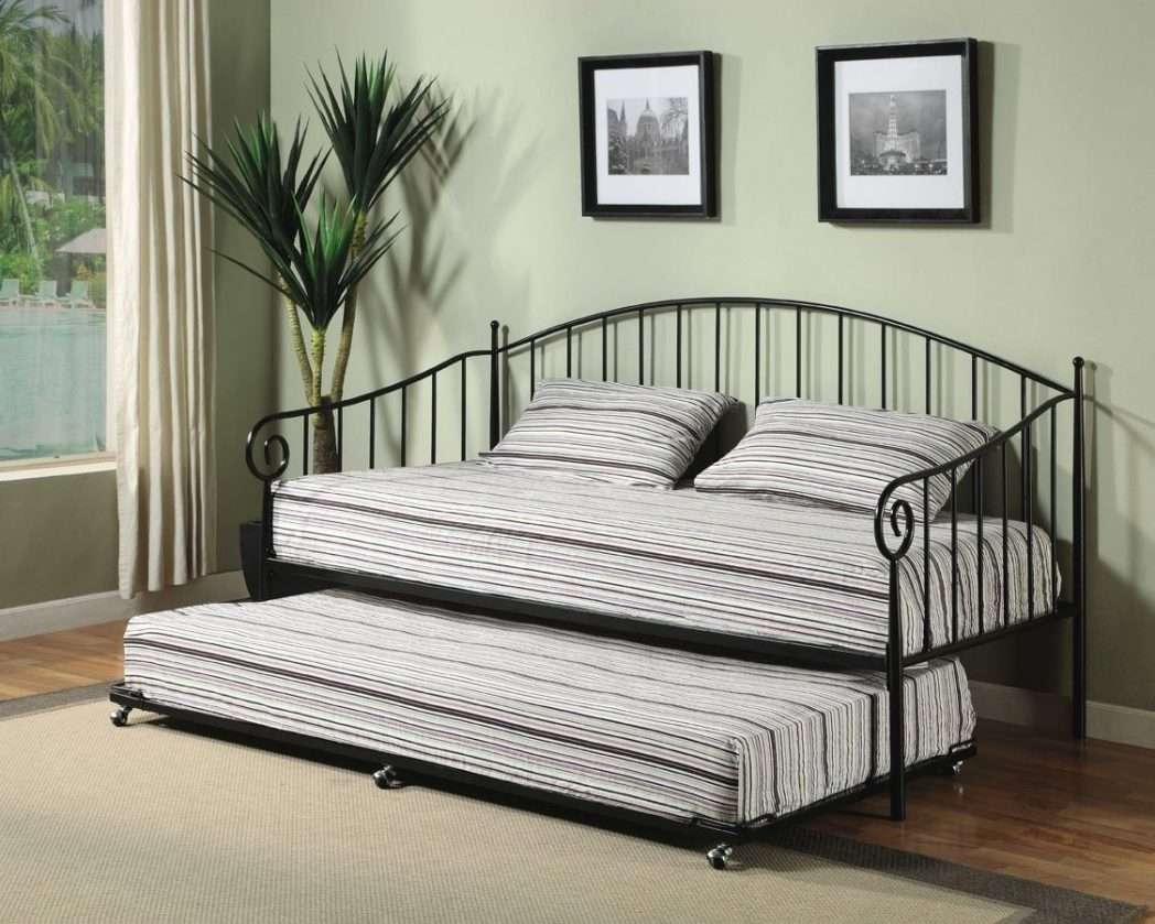Ikea Metal Frame Daybed Black Iron