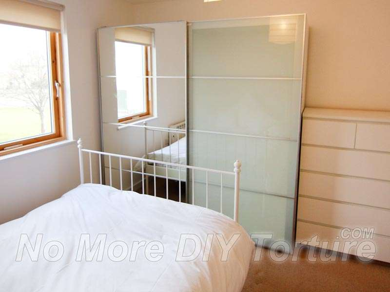 Ikea Pax Sekken Sliding Door Wardrobe Heart