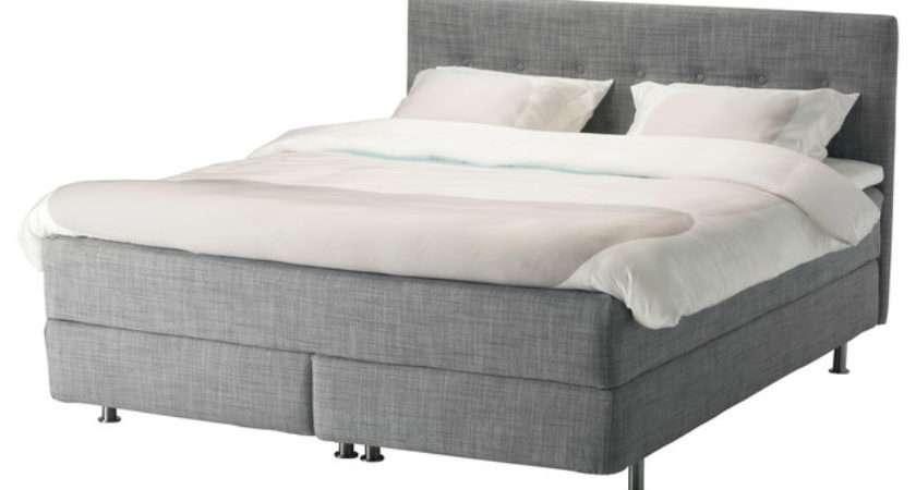 Ikea Rviksand Divan Bed Standard Double Contemporary