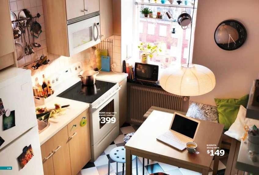 Ikea Small Kitchen Breakfast Nook Interior Design Ideas