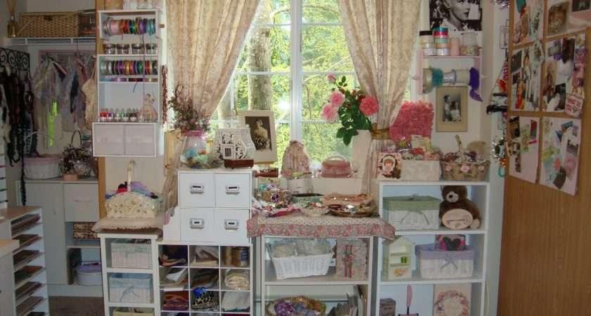 Iluvvintagescrap Little Piece Heaven Shabby Chic Craft Room