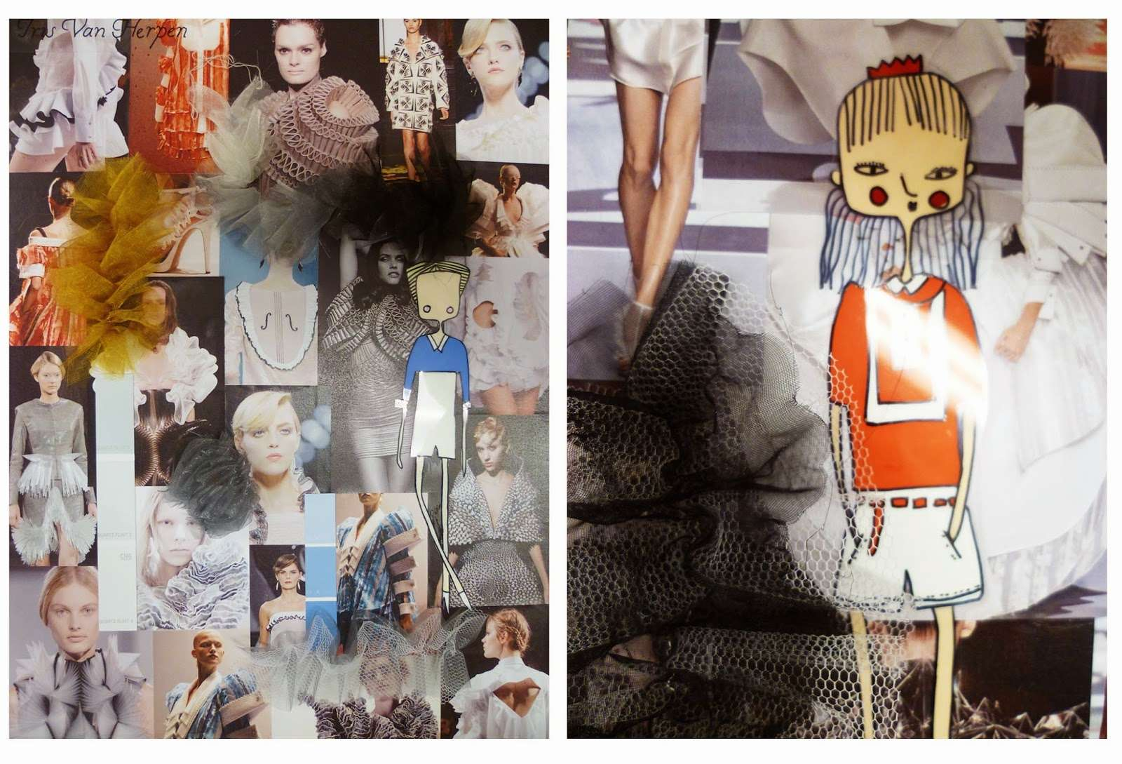 Impressive Mood Boards Level Fashion Textile Students