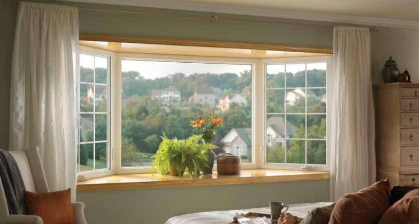 Impressive Window Treatment Ideas Bay Windows Decohoms
