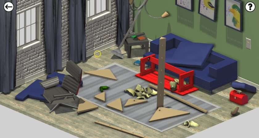 Improvisation Makes Building Ikea Furniture Feel Like Field Day