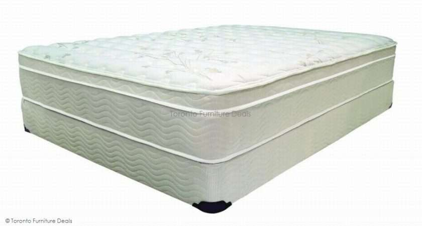 Inch Pillow Top Orthopedic Mattress Quilted Edge Guard