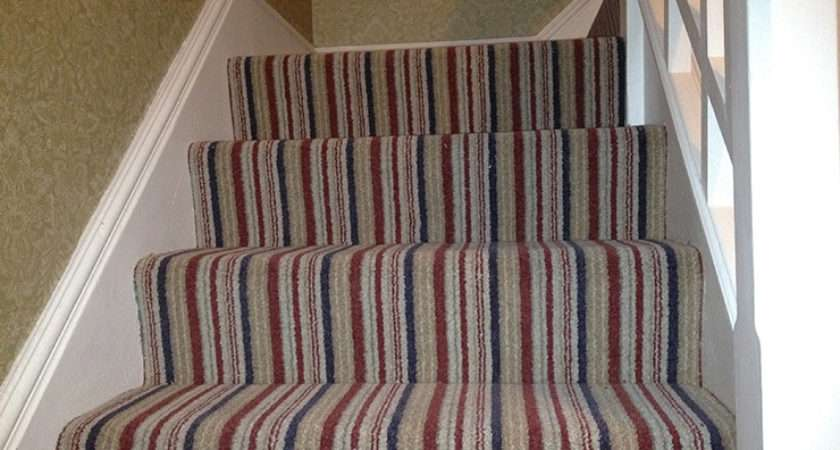Including Carpets Laminates Staircases Landing Stripey