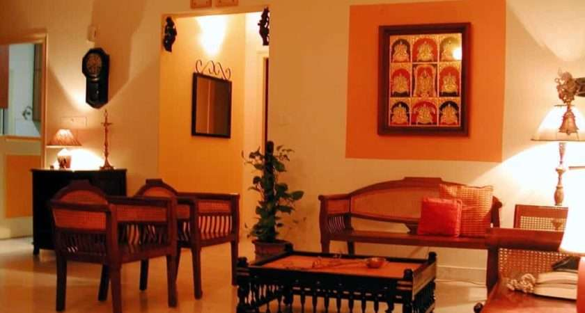 Indian Living Room Traditional Wooden Furniture