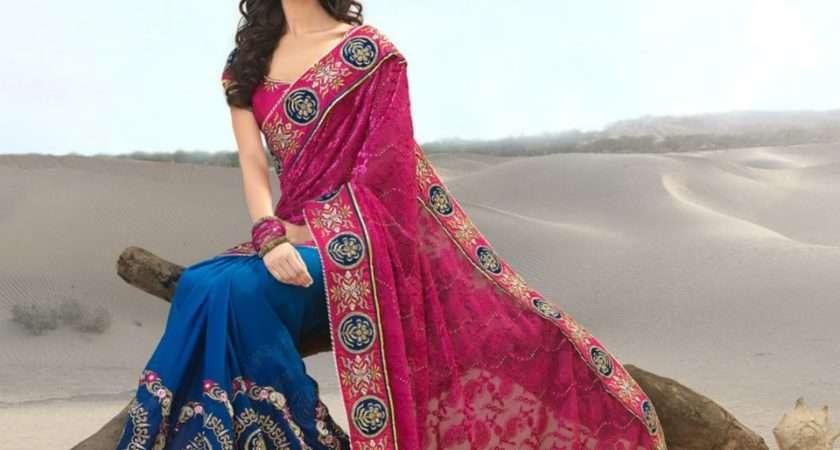Indian Saree Designs Fancy