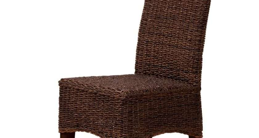 Indonesian Rattan Dining Chair Mahogany Frame Casa