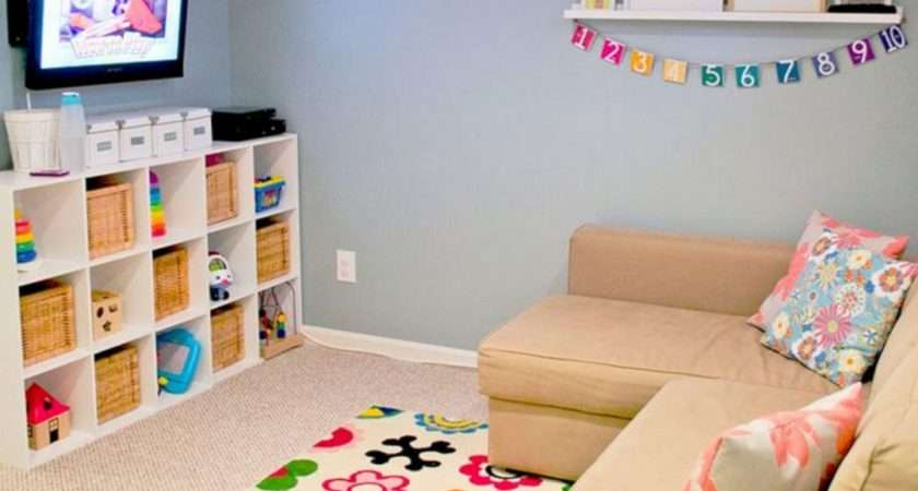 Inexpensive Decorating Playroom Ideas Spaces
