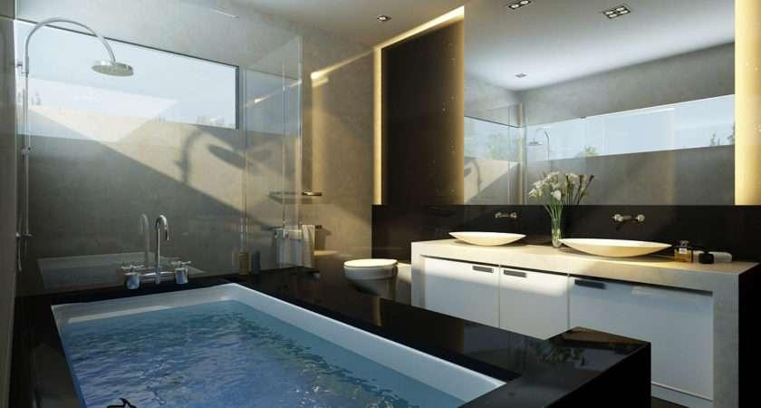 Innovative Big Bathroom Large Bathtub Glass Make