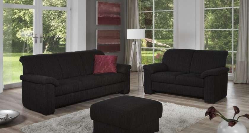 Innovative Furniture Minimalist Living Room Black Sofas
