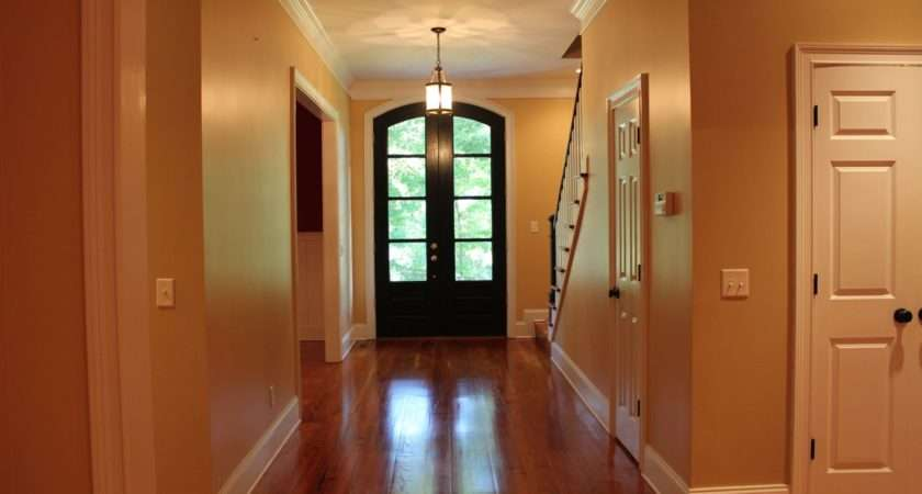 Inside New Painted House